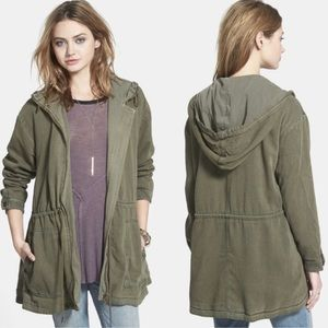 Free People Oversize Cinch Waist Anorak Jacket XS